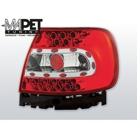 Audi A4 B5 Sedan - Clear Red/White Led - Diodowe LDAU07