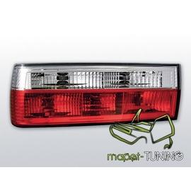 BMW E30 Sedan / Coupe / Cabrio - Clearglass Red/White LTBM17