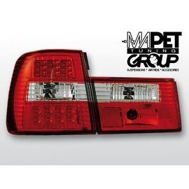 BMW E 34 Sedan CLEAR RED/WHITE LED czerwono-białe diodowe LDBM16