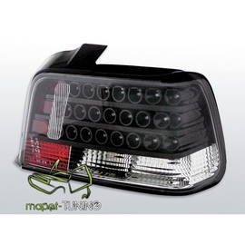 BMW E36 Sedan diodowe ciemne - BLACK LED LDBM14