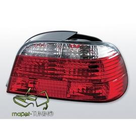 BMW E38 Sedan Clear Red/White LTBM41