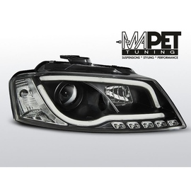 Audi A3 8P 08-12  Tube Light BLACK LED   LPAUA0