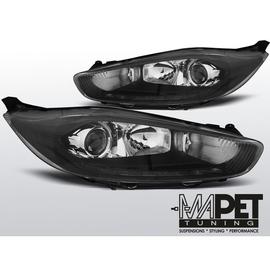 FORD FIESTA MK7 13- LED DRL BLACK - Diodowe do jazdy dziennej -  LPFO69