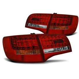 AUDI A6 C6 Avant - RED WHITE LED diodowe  LDAUD8