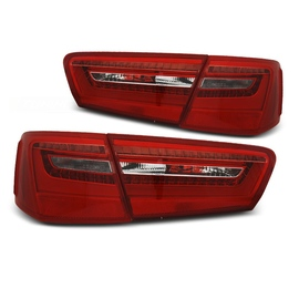 Audi A6 C7 4G Sedan - RED / WHITE LED BAR diodowe  LDAUE5