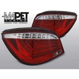 BMW E60 RED / WHITE LED BAR diodowe + diodowy kierunkowskaz LDBME8