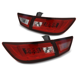 RENAULT CLIO IV HATCHBACK - RED WHITE LED BAR  diodowe LDRE02