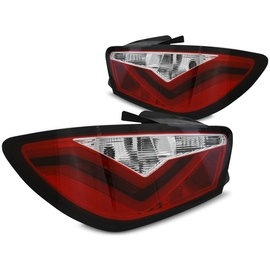Seat Ibiza 6J 08-12 - RED / WHITE  LED BAR - diodowe LDSE21