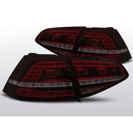 VW Golf 7 - Red Smoked LED GTi Look - DIODOWE  LDVWE9