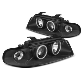 Audi A4 94-98 - BLACK Angel Eyes CCFL LED  LPAUD7