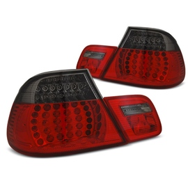 BMW E46 Coupe 03-06 Red / Black Led - diodowe LDBMF2