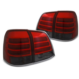 Toyota Land Cruiser FJ200  Smoked Red LED - diodowe LDTO17