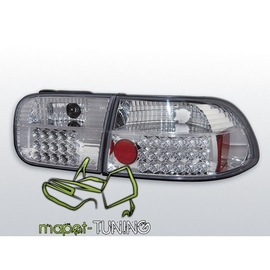 Honda Civic Coupe / Sedan - clear LED chrom 91-95  2/4d  LDHO05