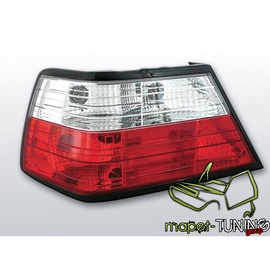 Mercedes E-klasa (W124) clearglass Red/White  LTME03