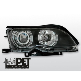 BMW E46 Sedan / Touring 01-05 Angel Eyes BLACK Ringi CCFL BM32