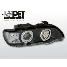BMW E53 X5 Angel Eyes BLACK czarne Ringi BM45
