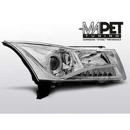 Chevrolet CRUZE 09-13 - Daylight CHROM LED + RING LPCT03