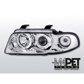 Audi A4 B5 94-98 Angel Eyes Chrom - Ringi LPAU02