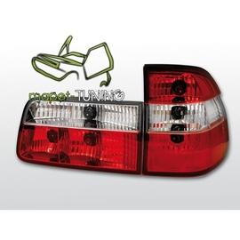 BMW E39 Kombi CLEAR Red / White Czerwono-białe LTBM26