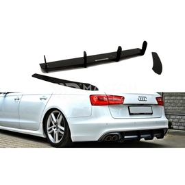 Dyfuzor RACE Tylnego Zderzaka ABS - Audi A6 C7 Avant S-line