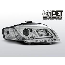 Audi A4 B7 04-08 - LED TUBE LIGHTS CHROM diodowe LPAU89