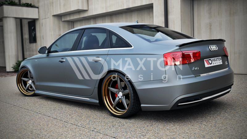 Lip Spojler Lotka Tylnej Klapy Abs Audi A6 C7 S Line