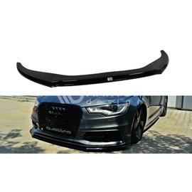 Przedni Splitter / dokładka ABS (ver.2) - Audi A6 C7 S-line