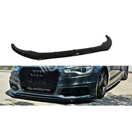 Przedni Splitter / dokładka ABS (ver.1) - Audi A6 C7 S-line