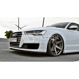 Przedni Splitter / dokładka ABS - Audi A6 C7 Ultra FL
