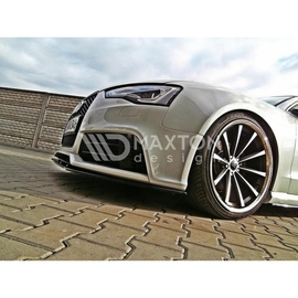 Przedni Splitter / dokładka ABS - Audi RS5 8T 2011-
