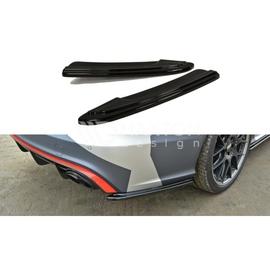 Splittery Boczne Tylnego Zderzaka ABS - Audi RS6 C7 FL