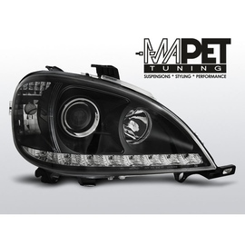 Mercedes M klasa W163 ML 98-01 BLACK LED diodowe LPMEA0