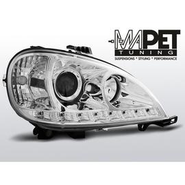 Mercedes M klasa W163 ML 98-01 CHROM LED diodowe LPME99