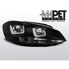 VW Golf 7 - BLACK LED DRL jazdy dziennej - diodowe  LPVWK6