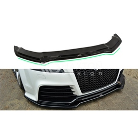 Przedni Splitter / dokładka ABS (ver.2) - Audi TT 8J mk2 RS
