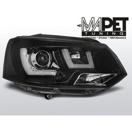 VW T5 2010- BLACK U-LED DRL - diodowe światła jazdy dziennej LPVWL2