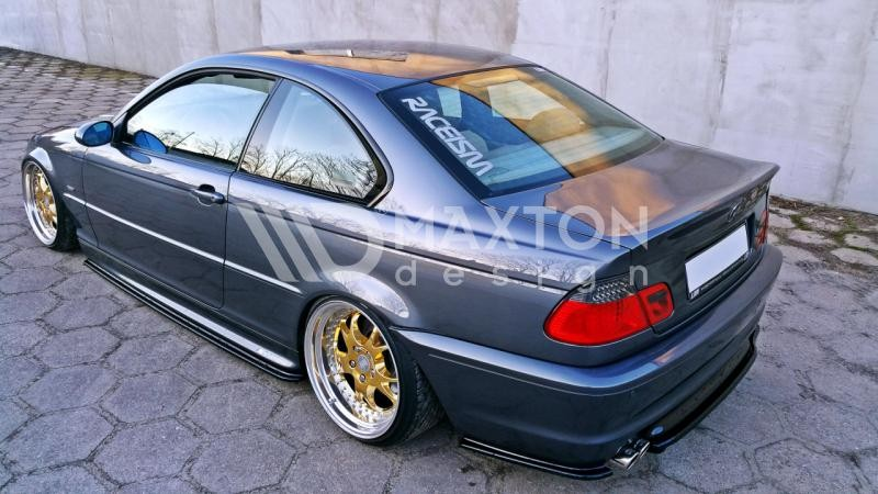 Dyfuzor Tylnego Zderzaka ABS - BMW 3 E46 Coupe M-pakiet ...