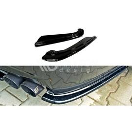 Splittery Boczne Tylnego Zderzaka ABS - BMW 5 F11 M-pakiet (z podwójnymi końcówkami)