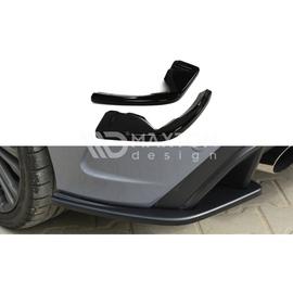 Splittery Boczne Tylnego Zderzaka ABS - Ford Focus 3 RS 2015 -
