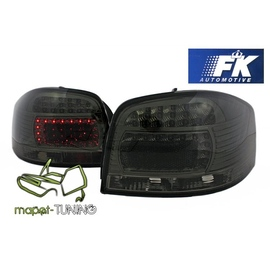 Audi A3 8P Clearglass Black LED diodowe FK