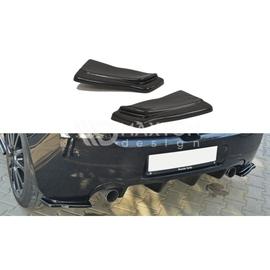Splittery Boczne Tylnego Zderzaka ABS - Renault Clio 3 RS   2006-2009