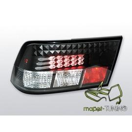 Opel Calibra - clearglass LED black - diodowe LDOP03