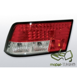 Opel Calibra - clearglass LED red/white - diodowe LDOP04