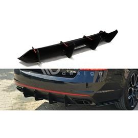 Dyfuzor Tylnego Zderzaka ABS RACE -  Skoda Octavia mk3 RS  2013-