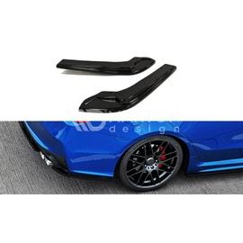 Splittery Boczne Tylnego Zderzaka ABS - Subaru Impreza WRX STI 2014 -
