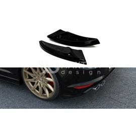 Splittery Boczne Tylnego Zderzaka ABS - VW GOLF VII R  2013-