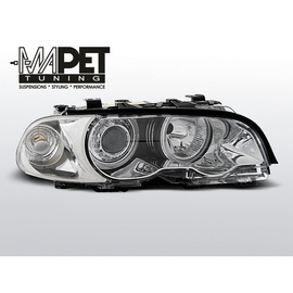 BMW E46 Coupe / Cabrio 98-01 Angel Eyes CHROM Ringi FK LPBM33