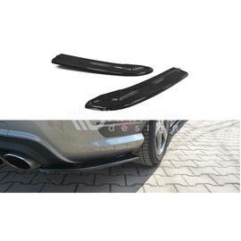 Splittery Boczne Tylnego Zderzaka ABS - Mercedes C W204 AMG-Line 2011-2014