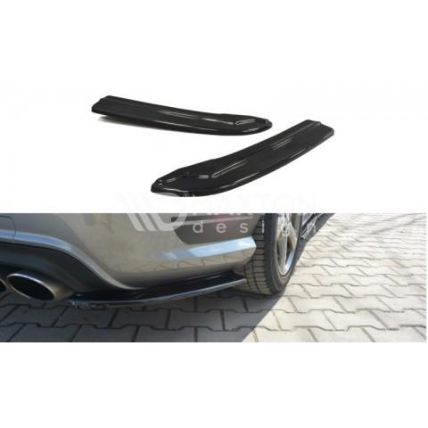 Splittery Boczne Tylnego Zderzaka ABS - Mercedes C W204 AMG-Line 2007-2010