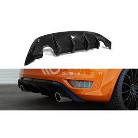 Dyfuzor Tylnego Zderzaka ABS - Ford Focus mk2 ST FL